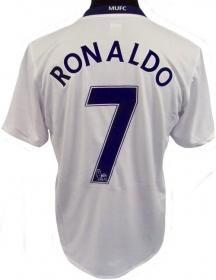 Manchester United 08-09 Cristiano Ronaldo away