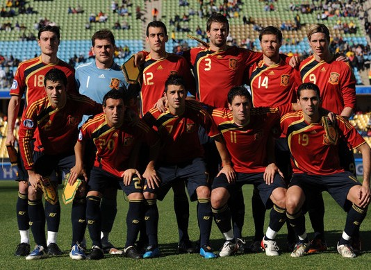 Spain 2009 Confederations Cup Kit
