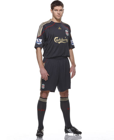 New Liverpool away strip 2009-10
