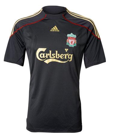 New Liverpool away kit 2009-10