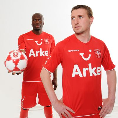 New FC Twente home jersey for 2009-10