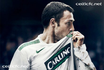 New Celtic 2009-10 International Away Kit