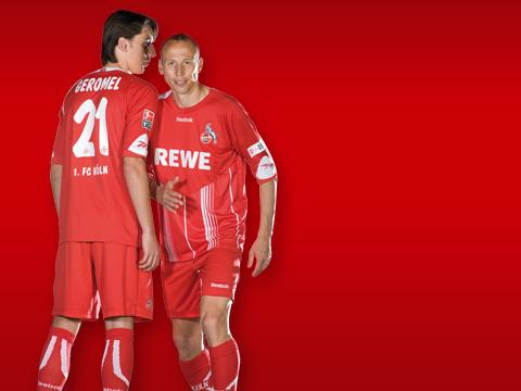 New FC Koln home shirt