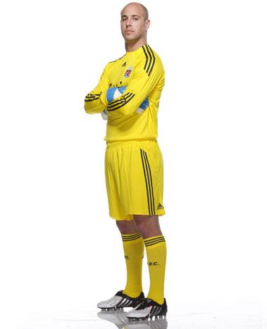 new Liverpool Goalkeeper Kit 2009-10 season