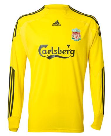 new Liverpool Goalkeeper Jersey 2009-10 season