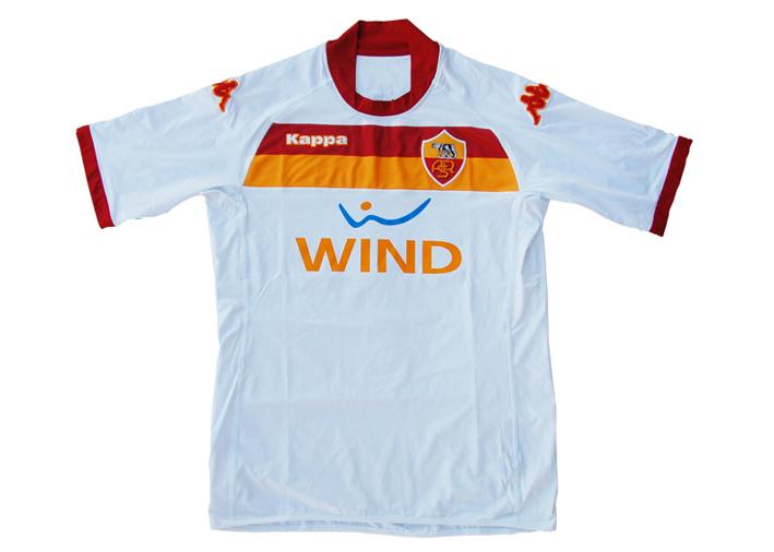 New AS Roma 2009-10 season Away Strip