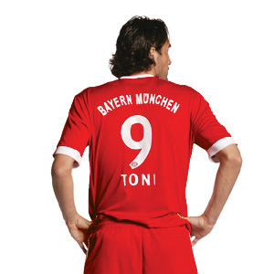 New FC Bayern Munich jersey back