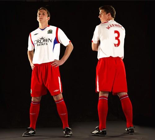 New Blackburn Rovers away kit 2009-10 season