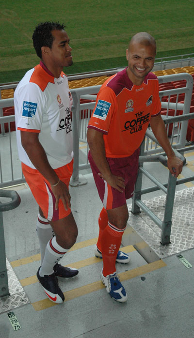 New Brisbane Roar kits 2009-10