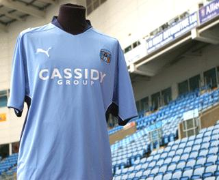 New Coventry City 2009-10 shirt