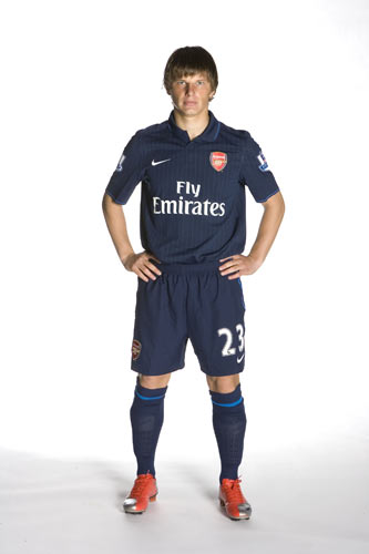 New Arsenal away shirt 2009/10