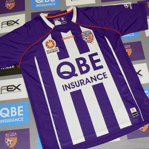 New Perth Glory 2009-10 home strip