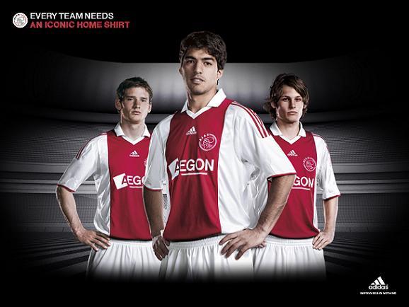 New Ajax thuisshirt 2009-10 season