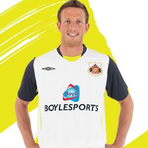 New Sunderland away shirt 2009-10