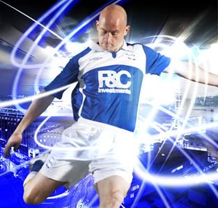 New Birmingham City home shirt Premier League 09/10 photo