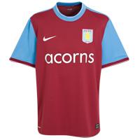 New Aston Villa home kit 09-10