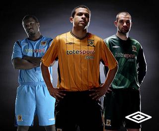 New Hull City kits 2009-10