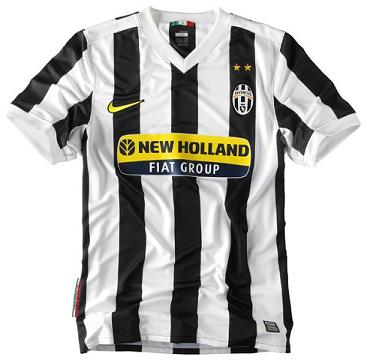 New Juve home kit 2009/10