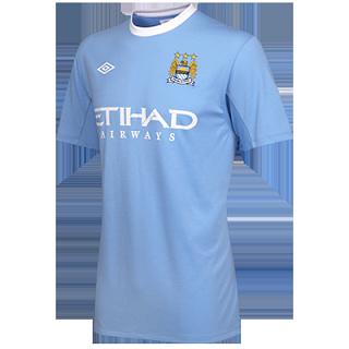 New Man City home kit 2009-10 season