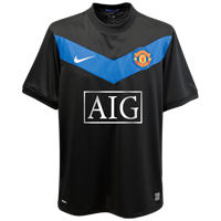 new Man United away shirt 09-10