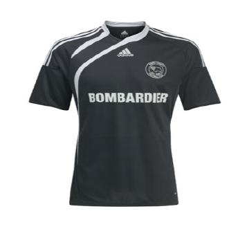 New Derby County away shirt 2009-10