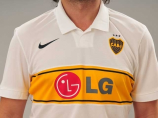 New Boca Juniors away kit 2009-10
