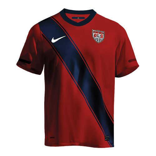 Red Soccer Uniform 14