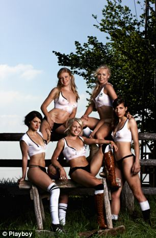 Germany Playboy Shoot