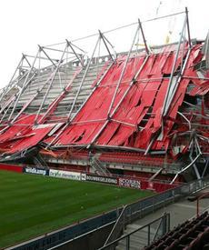 FC Twente Stadium Collapse