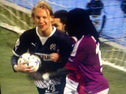 Domagoj Vida wink Dinamo Lyon