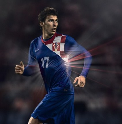 Croatia Away Euro 2012 Kit