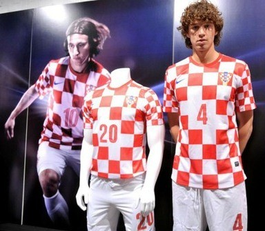 Croatia Home Euro 2012 Shirt