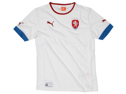 Czech Euro 2012 Away Shirt