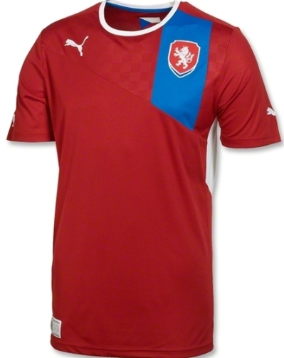 Czech Republic Euro 2012 Shirt