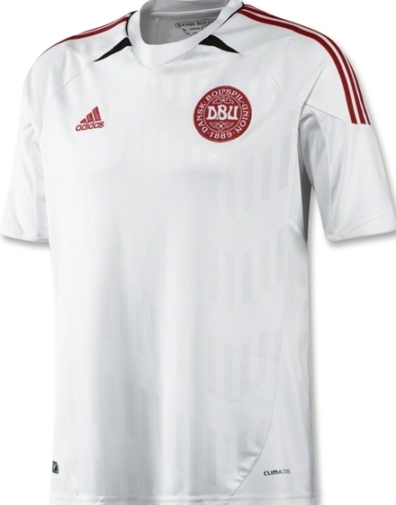 Denmark Away Euro 2012 Jersey