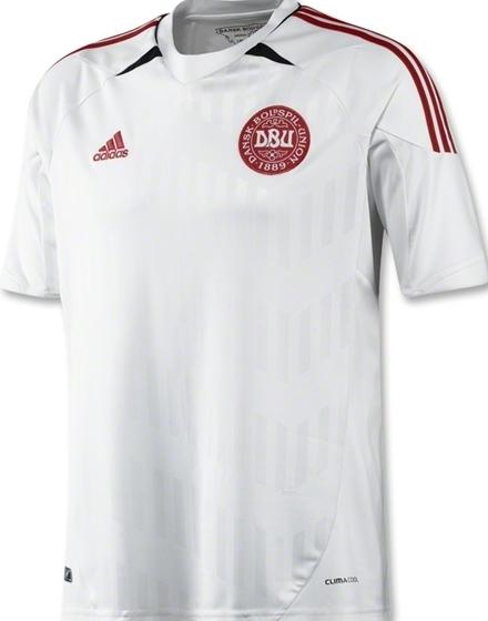 Denmark Away Euro 2012 Jersey