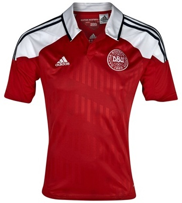 Denmark Home Euro 2012 Shirt