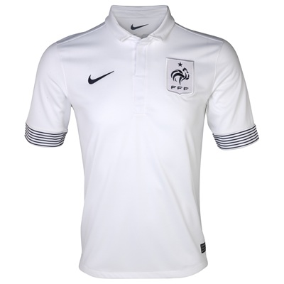 France Away Euro 2012 Shirt