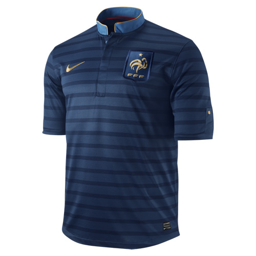 French Euro 2012 Home Shirt