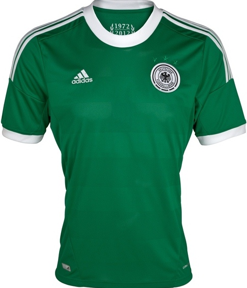 Germany Away Euro 2012 Jersey