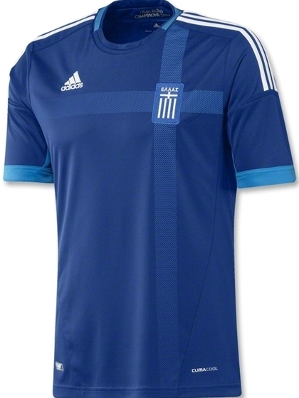 Greece Away Euro 2012 Jersey