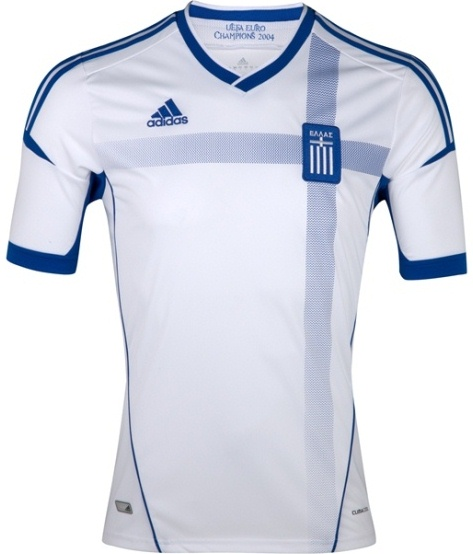 Greece Euro 2012 Home Kit