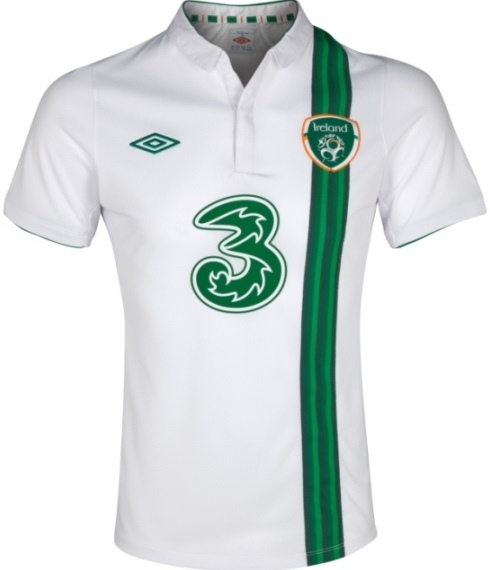 Ireland Away Euro 2012 Strip