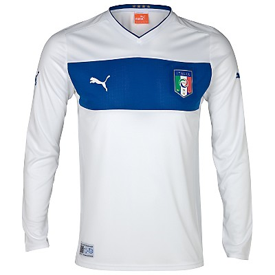 Italy Away Euro 2012 Uniform