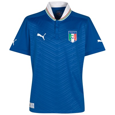Italy Euro 2012 Home Shirt