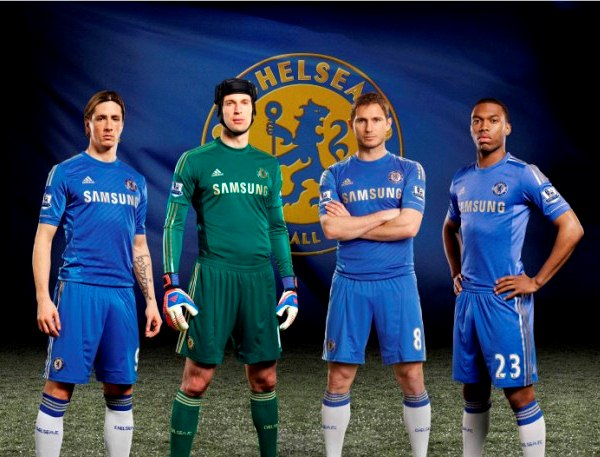 New Chelsea Shirt 2013