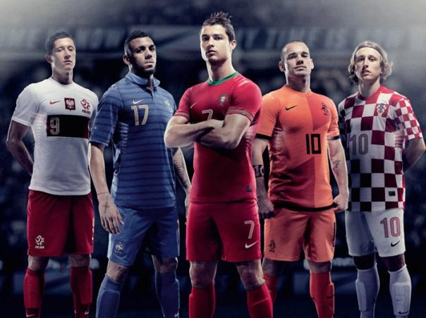 New Euro 2012 Shirts Nike