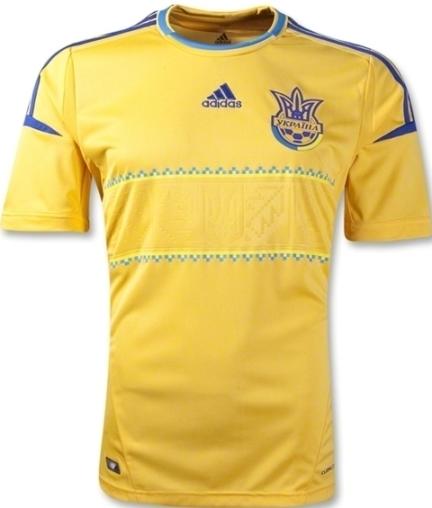 New Ukraine EM 2012 Shirt