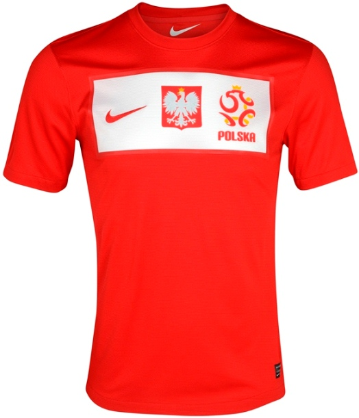 Nike Poland Away Euro 2012 Kit