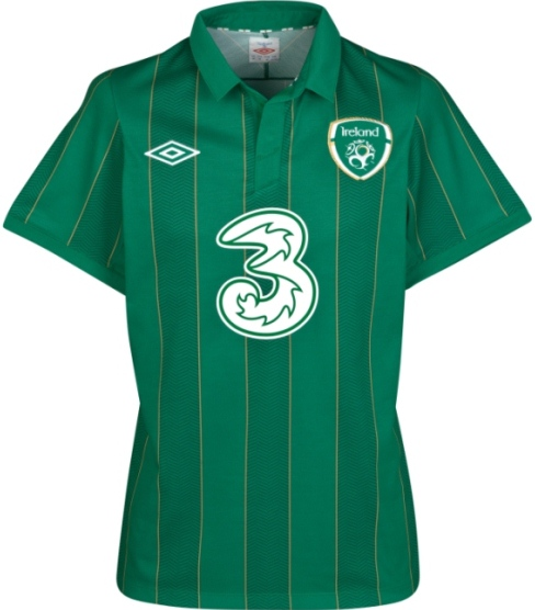 Republic of Ireland Home Top Euro 2012